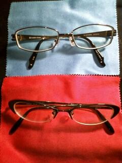 メガネ二種類